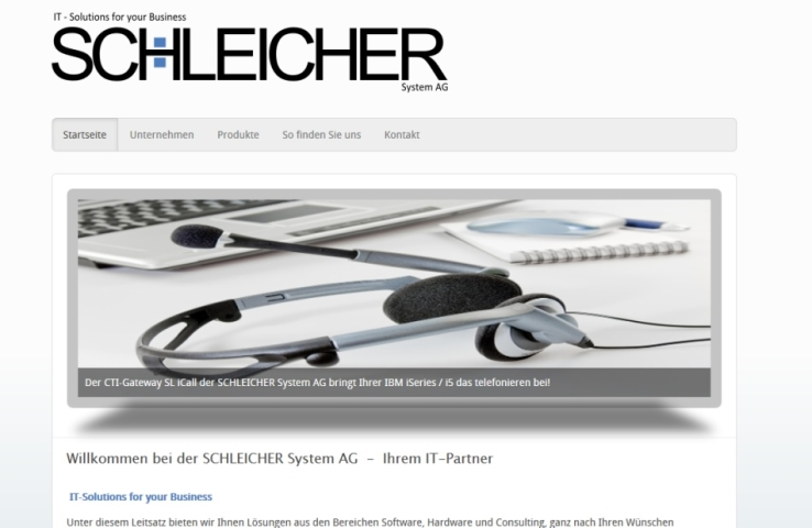 SCHLEICHER System AG  -  Ihrem IT-Partner in Flörsheim